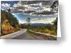 Blue Ridge Parkway, Buena Vista Virginia Greeting Card