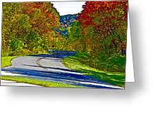 Blue Ridge Parkway Interpretation Greeting Card