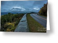 Blue Ridge Parkway Twisty Greeting Card