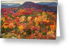 Blue Ridge Pastoral Greeting Card