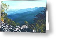 Blue Ridge Greeting Card