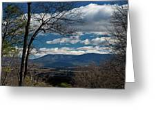 Blue Ridge Thornton Gap Greeting Card