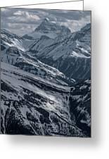 Blue Rockies Greeting Card