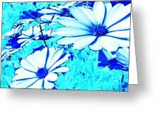 Blue Season Greeting Card