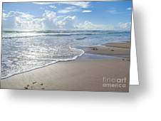 Blue Skies South Padre Island Texas Greeting Card