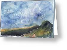 Blue Sky II Greeting Card