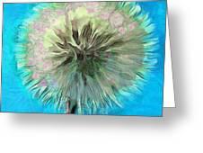 Blue Spirit Greeting Card