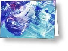 Blue Storm Greeting Card