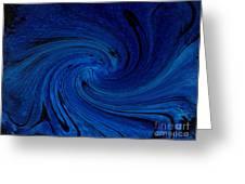 Blue Thunder Greeting Card