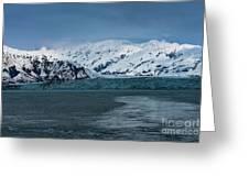Blue Tidewater Glacier  Greeting Card