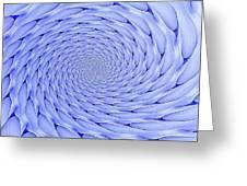 Blue Tip Whirlpool Greeting Card