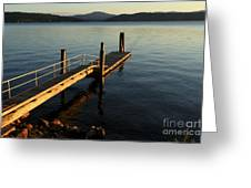 Blue Tranquility Greeting Card
