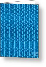 Blue Waves Art On Gifts Shirts Pillows Tote Bags Phone Cases Shower Curtains Duvet Covers Pod Gifts Greeting Card