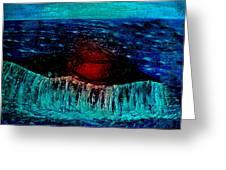 Blue Whale 2 Greeting Card