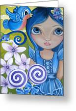 Blueberry Greeting Card