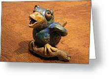 Bluebird Of Happiness Whistle Greeting Card by Chere Force