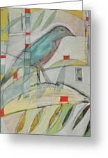 Bluebird Of Greeting Card