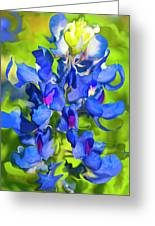 Bluebonnet Fantasy Greeting Card