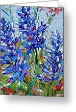 Bluebonnets Of Texas Greeting Card