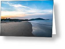 Blued Beauty Greeting Card