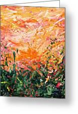 Bluegrass Sunrise - Desert A-left Greeting Card