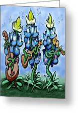 Blues Bonnets Greeting Card
