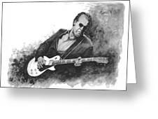 Blues Man Joe B. Greeting Card