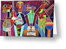 Blues Music Greeting Card