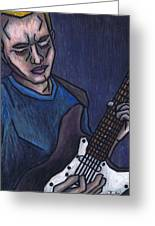 Blues Player Greeting Card
