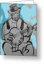 Bluesman Greeting Card
