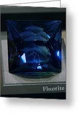 Bluetiful Fluorite Greeting Card