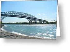 Bluewater Bridges Greeting Card