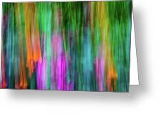 Blurred #3 Greeting Card