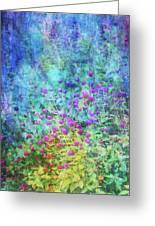 Blurred Garden 4798 Idp_2 Greeting Card