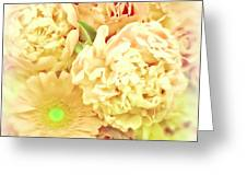 Blush Floral Bouquet Greeting Card