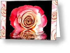 Blush Reflection Greeting Card