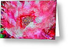 Blushing Greeting Card