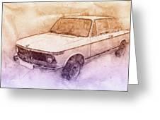 Bmw 02 Series 2 - Ececutive Car - 1966 - Automotive Art - Car ...