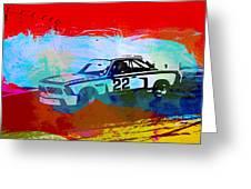 Bmw 3.0 Csl Racing Greeting Card by Naxart Studio