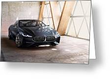 Bmw Concept 8 Series 4k Greeting Card