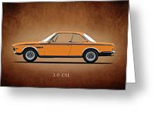 Bmw Csl 1972 Greeting Card