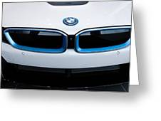 Bmw E Drive I8 Greeting Card by Aaron Berg