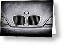 Bmw Grille -1123ac Greeting Card