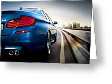 BMW Greeting Card