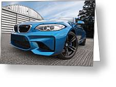 Bmw M2 Coupe Greeting Card