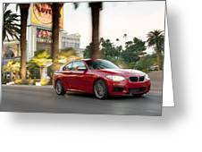 Bmw M235i Coupe Greeting Card