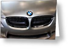 Bmw M3 Hood Greeting Card by Aaron Berg