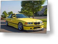 Bmw M3  Greeting Card