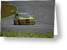 Bmw M3 Tire Rack Greeting Card