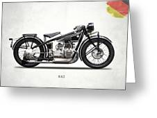 The R62 Motorcycle Greeting Card